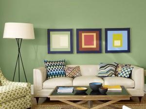Cara Memilih Warna Cat Untuk Ruang Tamu
