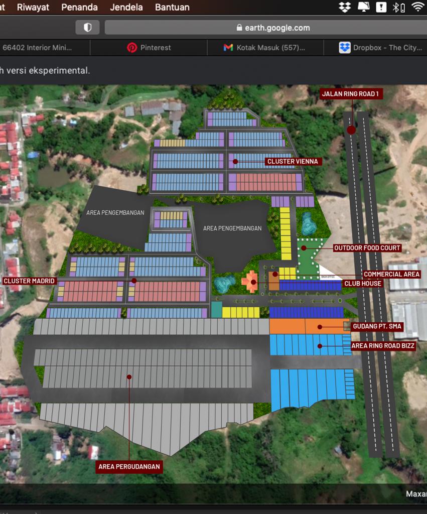 Masterplan The City Manado