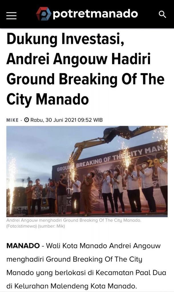 Publikasi Media The City Manado 1